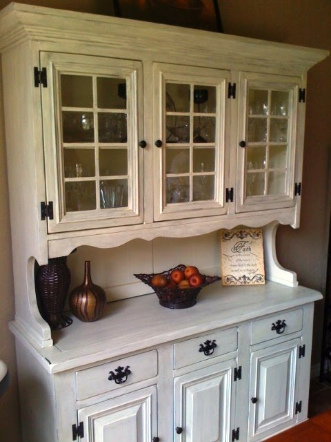 How To Build A Buffet Hutch