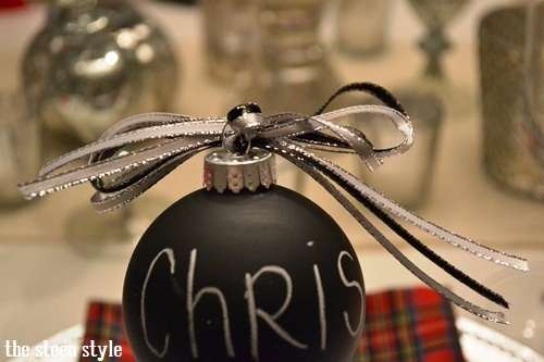 DIY Chalkboard Ornaments8