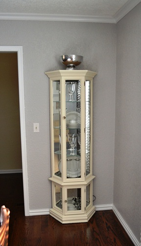 Awesome Curio Cabinet Makeover4