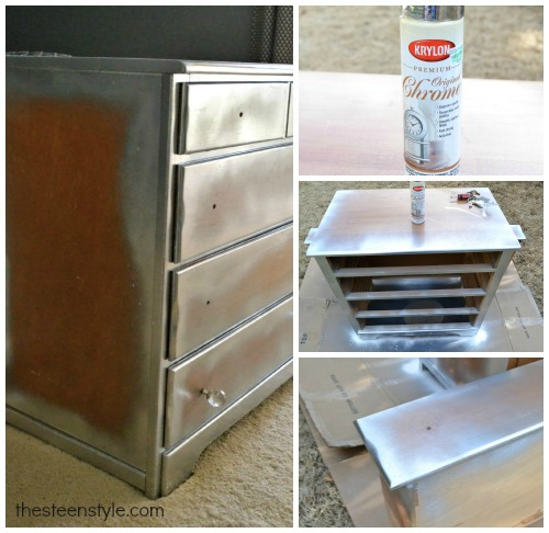 Diy Mirrored Nightstand The Steen Style
