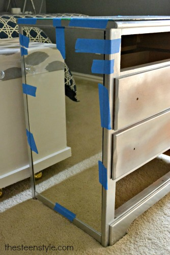 DIY Mirrored Nightstand4