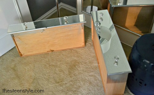 DIY Mirrored Nightstand5