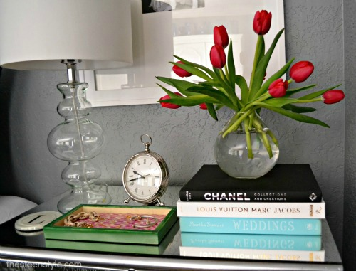 DIY Mirrored Nightstand9