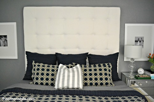 DIY Tufted Headboard14