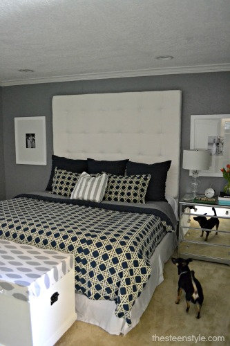DIY Tufted Headboard15