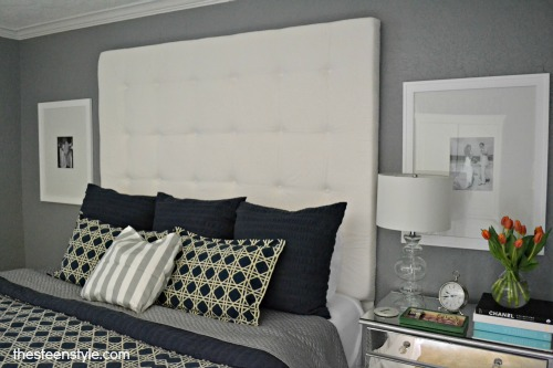 DIY Tufted Headboard19