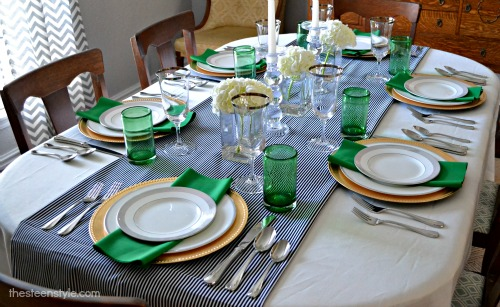 Emerald Tablescape1